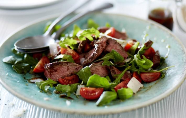 М'ясні салати на новий рік