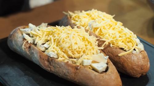 Бутерброди з сиром в духовці