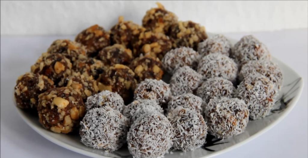 Корисні цукерки з сухофруктів