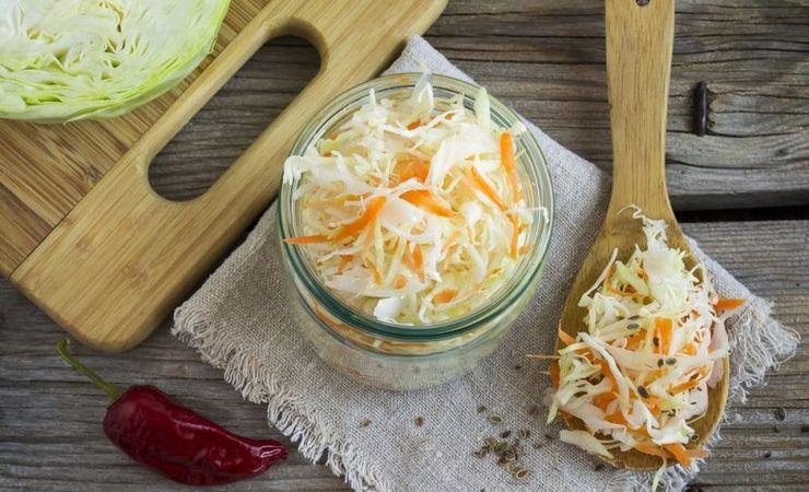 Швидкий рецепт квашеної капусти з медом