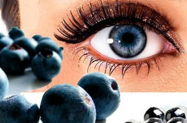 Продукти для поліпшення зору