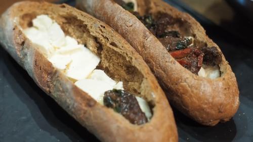 Приготування гарячих бутербродів в духовці