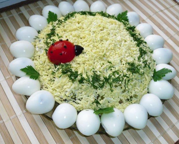 Дитячі салати на день народження