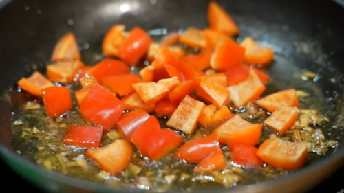 суп гороховий з болгарським перцем