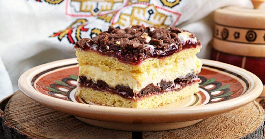 """Рецепт торта """"Вишиванка"""""""