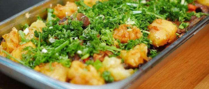 Баранина запечена з овочами | Святкова страва в пароконвектоматі