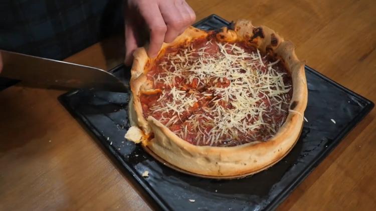 Рецепт піци Чикаго