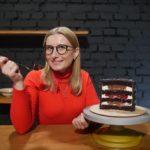 Шоколадний торт Among us | Вишня в шоколаді | Валентина Мосійчук