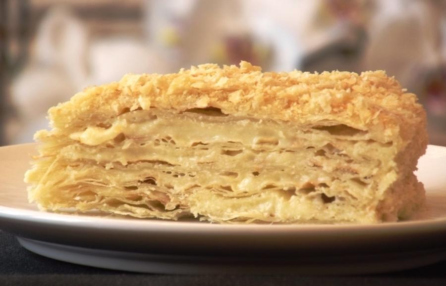 Napoleon торт фото recept