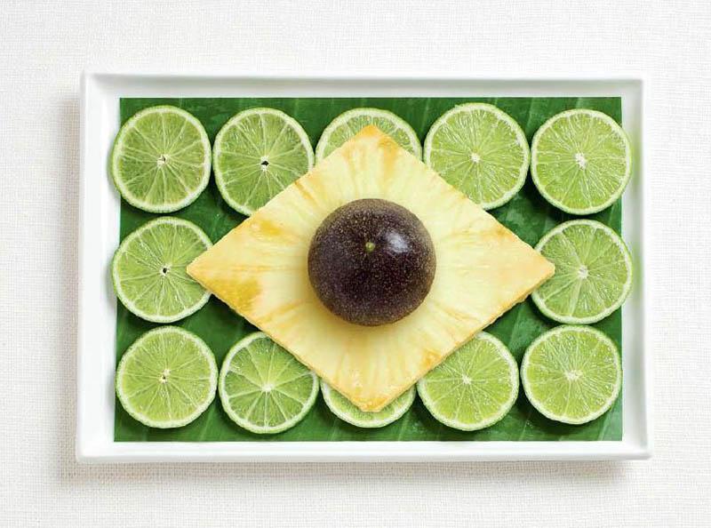 Банановий лист, лайм, ананас, маракуйя (Бразилія)
