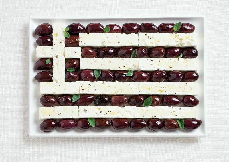 Оливки та сир фета (Греція)