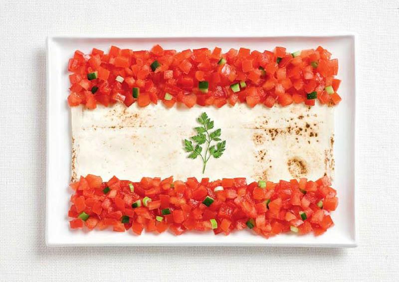 Томати, лаваш, петрушка (Ліван)