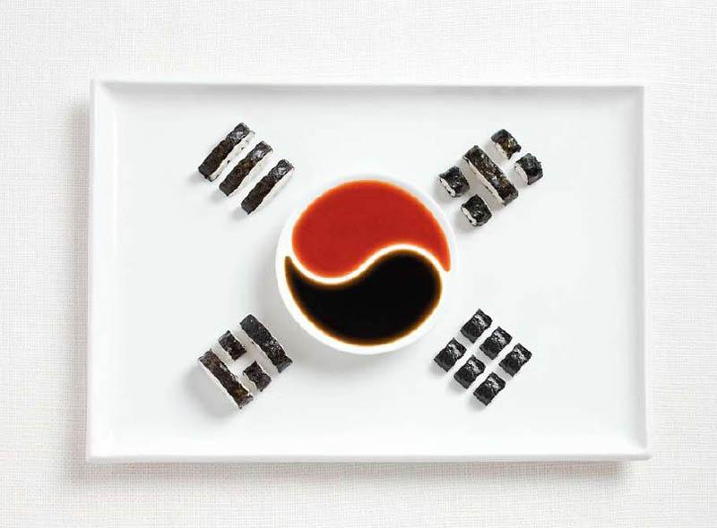 Корейські суші та соуси (Південна Корея)