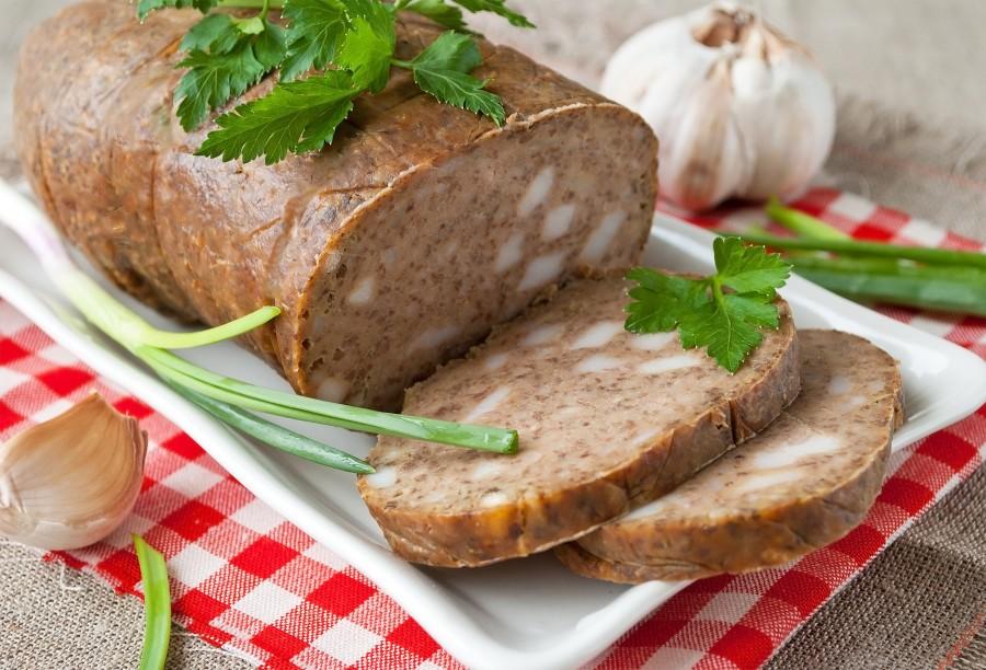 Домашняя колбаса из печени кишках рецепт