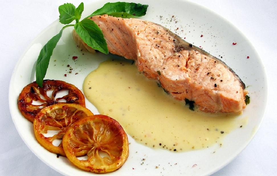 Рецепты с фото из семги под соусом