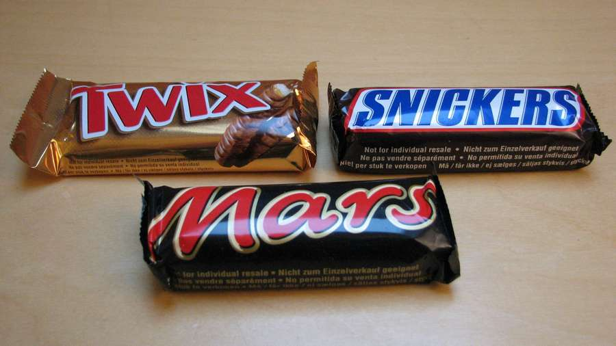 батончики марс