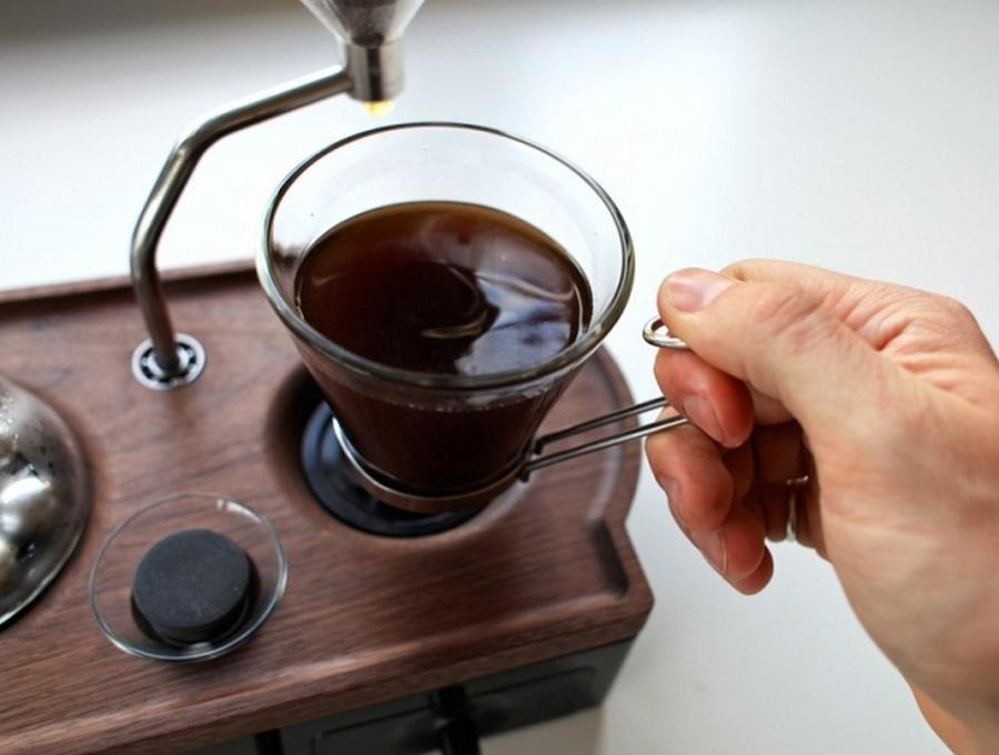будильник-кавоварка
