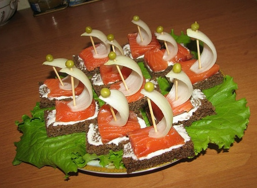 Рецепт рыбы на шпажках рецепт с фото