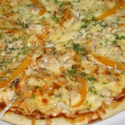 Пицца детская рецепт с фото с курицей