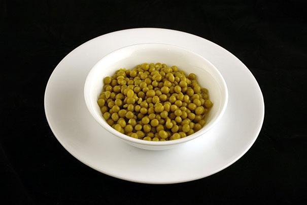 консервований зелений горошок