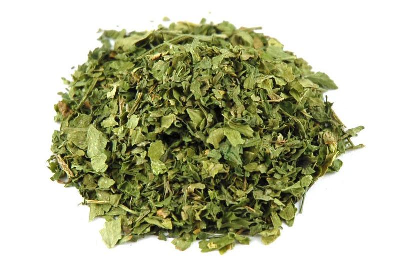 зелень сушена