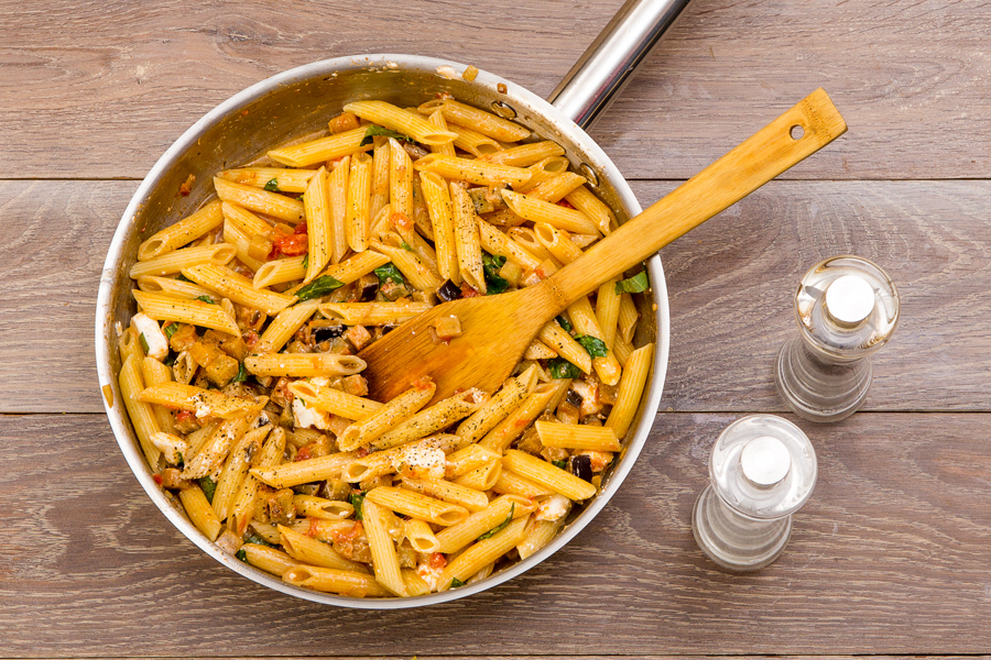 макарони з овочами