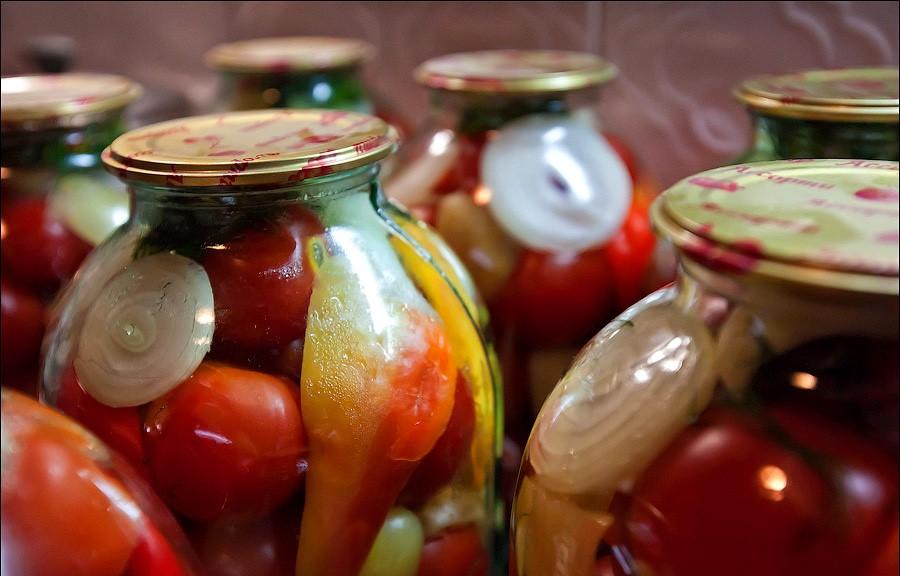 помідори по-грузинськи