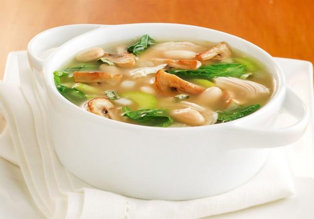 Грибной суп из шампиньонов видео