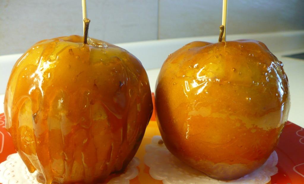 карамелізовані яблука