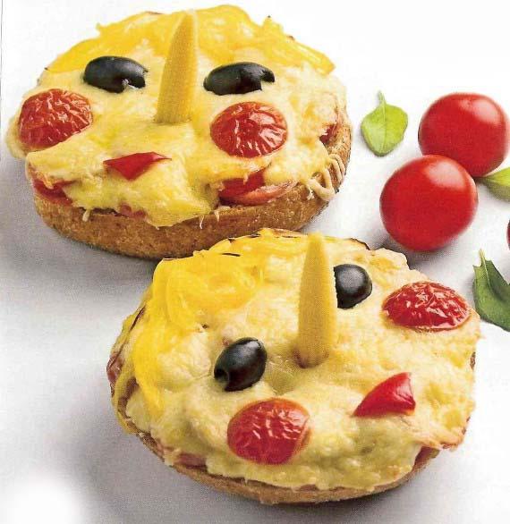 сніданок школяра гарячі бутерброди