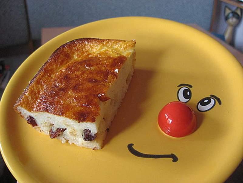 сніданок школяра запіканка