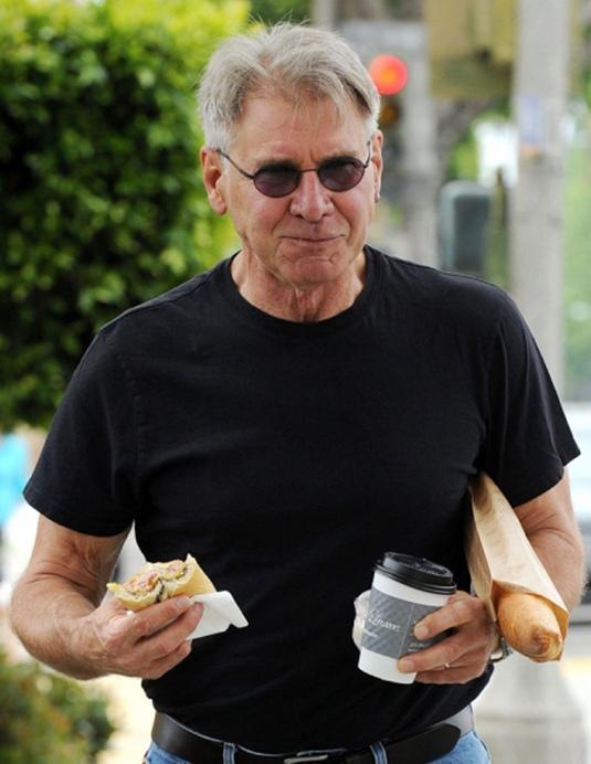 вулична їжа і Гаррісон Форд