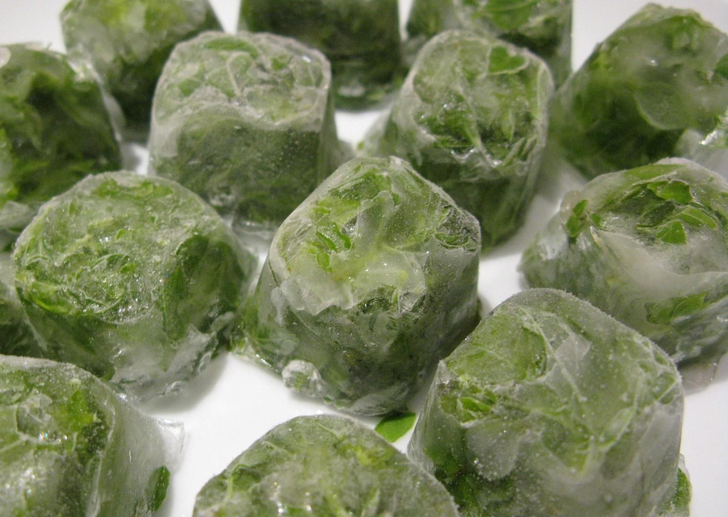 заморожена зелень