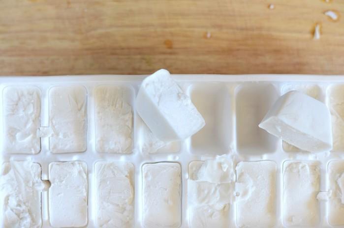 заморожене молоко