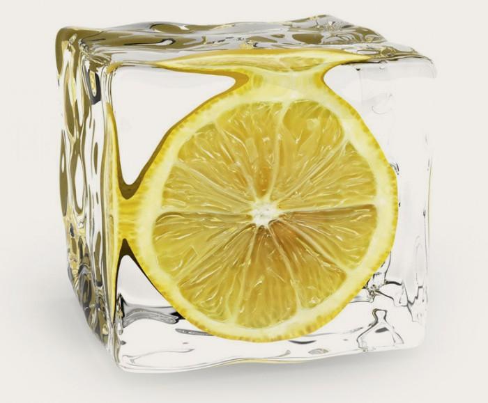 заморожений лимонний сік