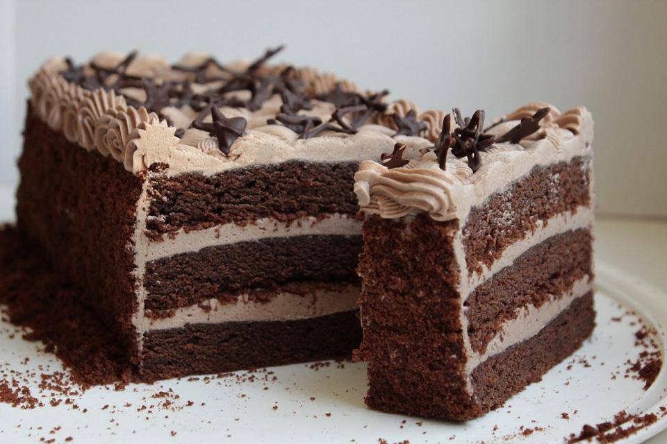 тортики рецепты с фото шоколадные