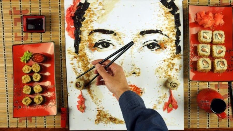 Смачні портрети українського художника
