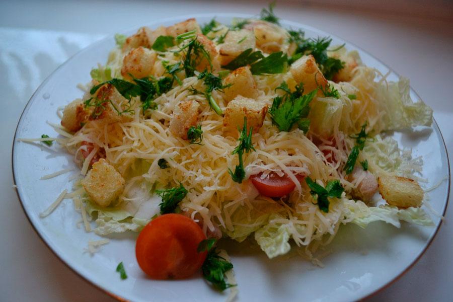 салаты из пекинской капусты с маслом рецепты с фото