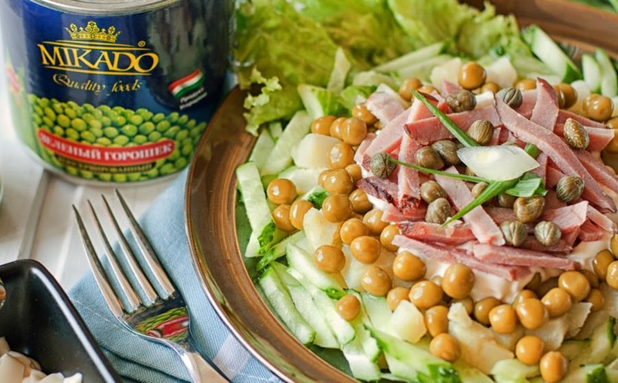 Рецепти салатов та