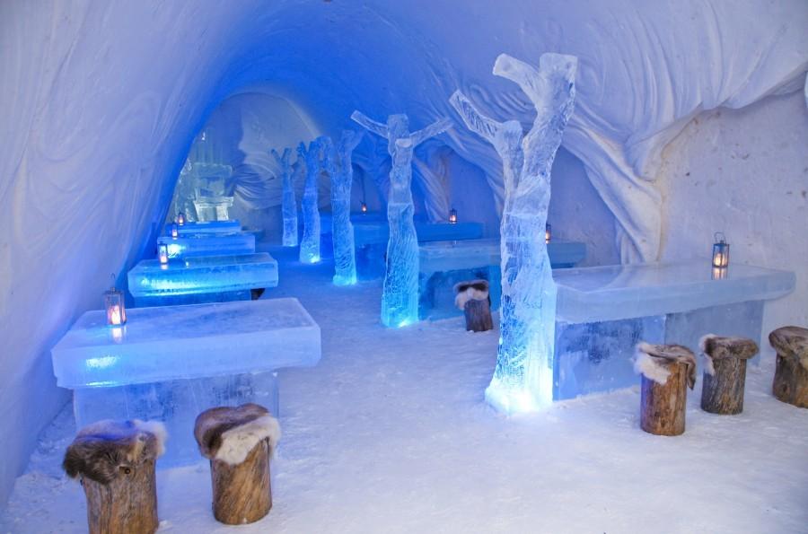 ресторан з льоду