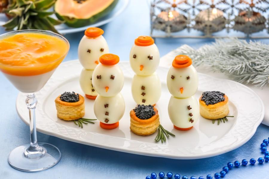 їстівні сніговички