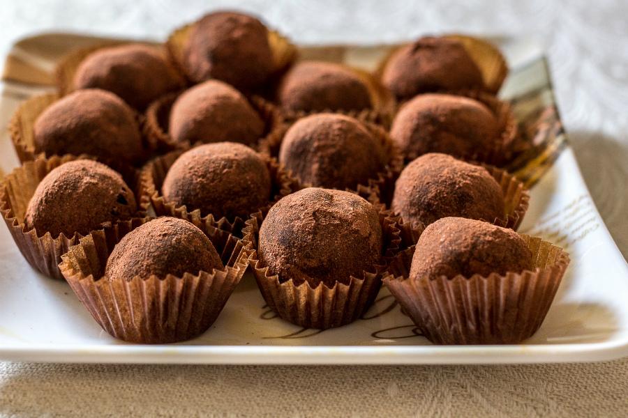Шоколадні трюфелі