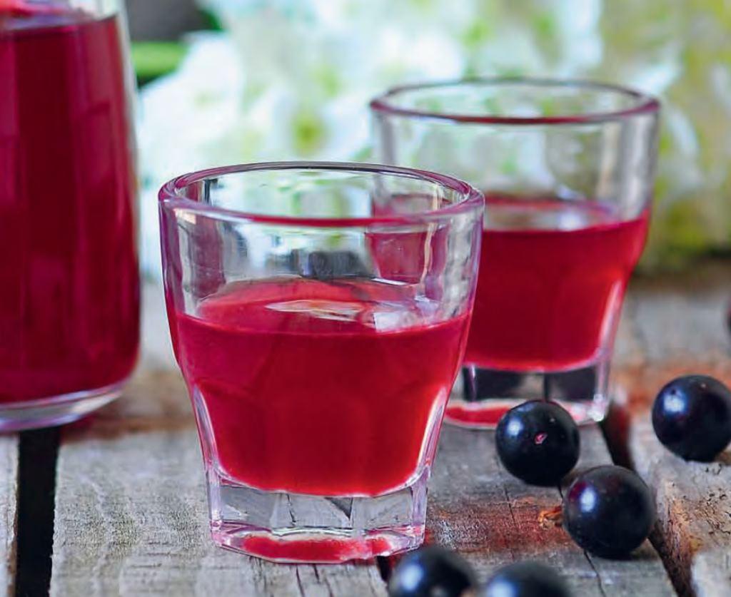Настойка из черной смородины на спирту в домашних условиях рецепт