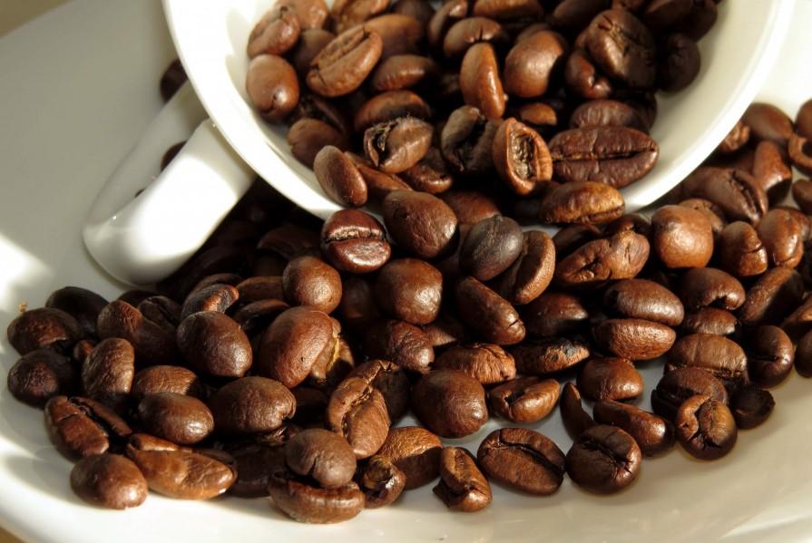смажені кавові зерна