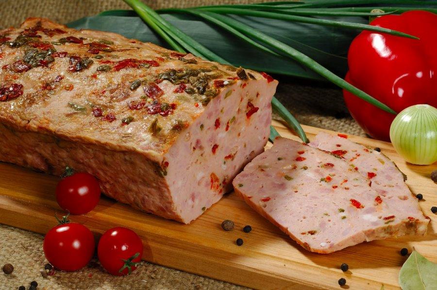 М'ясний хлібець з болгарським перцем