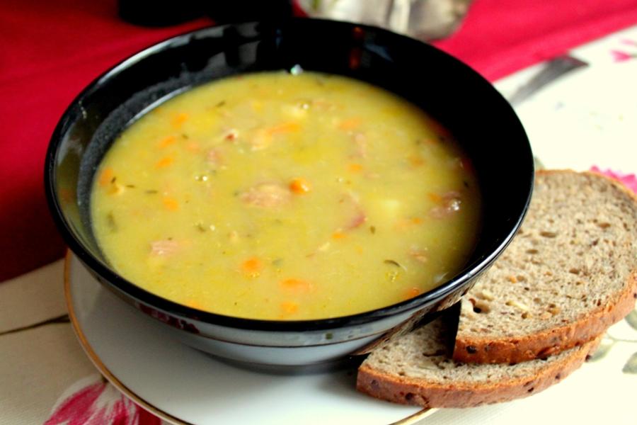 Суп-пюре гороховый рецепт с фото в мультиварке